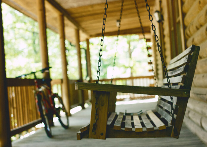 porch swing - photo by James Garcia on Unsplash