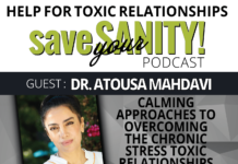 Calming Approaches to Overcoming the Chronic Stress Toxic Relationships Bring 1