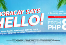 AirAsia supports the reopening of Boracay