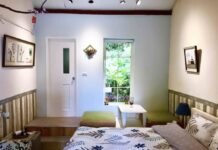 Beautiful Room in a Daxi District Farmhouse