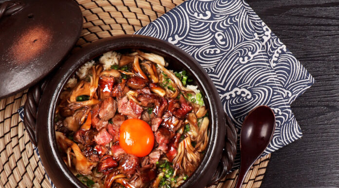 Signature specialties on the menu include Wagyu Beef Pot Rice, with top-grade Miyazaki filet A4 and with a twist of Madeira sauce