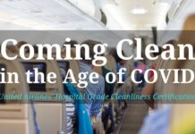 Coming Clean in the Age of COVID - United Airlines' Hospital Grade Cleanliness Certification on TravelLatte