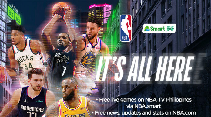 NBA and Smart launch NBA's official digital destination in the Philippines