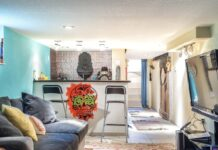 Artsy Basement Airbnb Apartment in Bay View Milwaukee