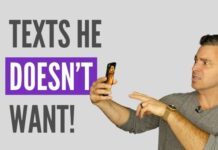 texting mistakes that turn him off